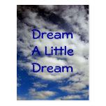 Soñe una pequeña postal ideal