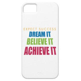 Sóñelo y alcáncelo iPhone 5 fundas
