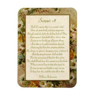 Soneto 18 de Shakespeare Iman De Vinilo