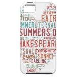 Soneto 18 de Shakespeare iPhone 5 Protectores