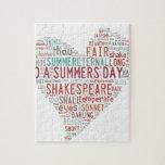 Soneto 18 de Shakespeare Puzzles