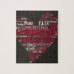 Soneto 18 de Shakespeare Rompecabezas
