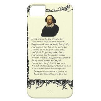 Soneto # 18 de William Shakespeare iPhone 5 Case-Mate Coberturas
