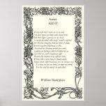 Soneto # 27 de William Shakespeare Impresiones