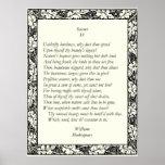 Soneto # 4 de William Shakespeare Poster