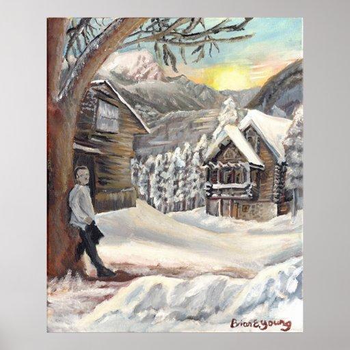 Soneto de la nieve posters