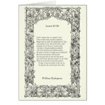 Soneto de Shakespeare # 18 Tarjetas