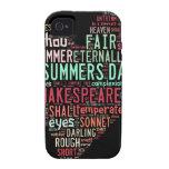 Soneto de Shakespeare iPhone 4/4S Carcasa
