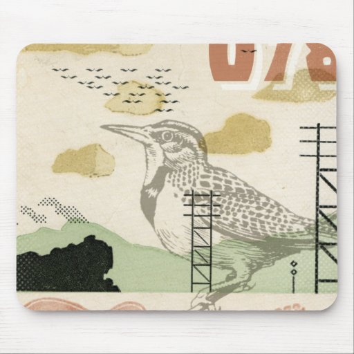 Song Bird 078 Mouse Pad