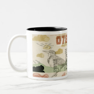 Song Bird 078 Two-Tone Coffee Mug