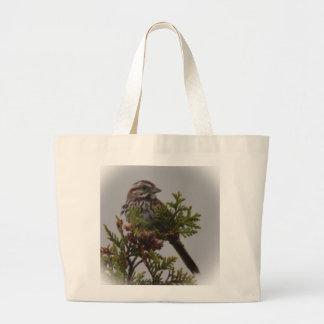 Song Bird Canvas Bags