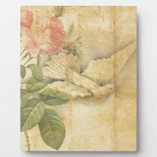 Song Bird Bring Peace Plaque