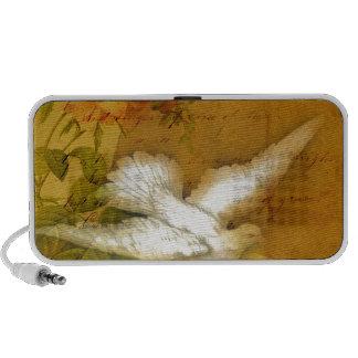 Song Bird Brings Peace Mini Speakers