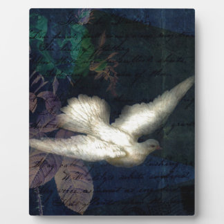 Song Bird Brings Peace Plaques