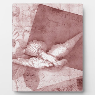 SOng Bird Brings Peace Display Plaques
