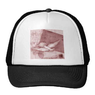 SOng Bird Brings Peace Trucker Hat