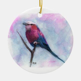 Song Bird Ceramic Ornament
