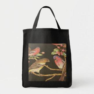 Song Bird Grocery Bag