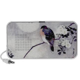 Song Bird Japanese print iPhone Speakers