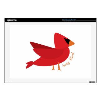 "Song Bird Skin For 17"" Laptop"