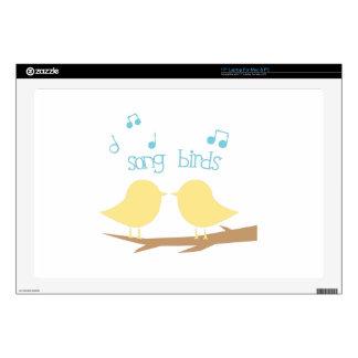 Song Birds Skins For Laptops
