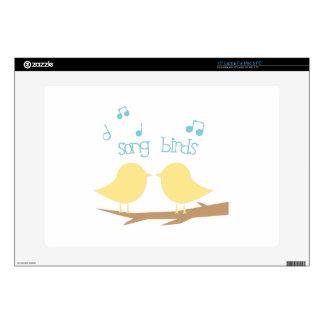 Song Birds Laptop Skins