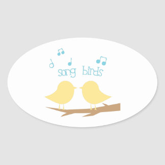 Song Birds Stickers