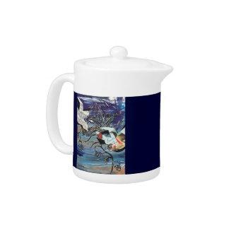 Song Birds Tea Pot
