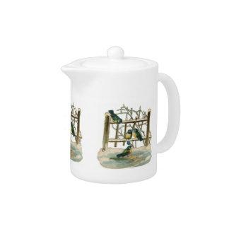 Song Birds Teapot