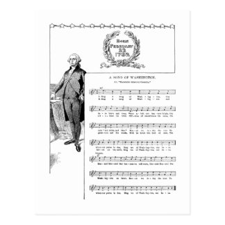 Song for George Washington Postcards