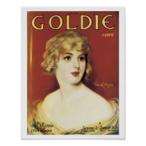 Song (Goldie) Vintage Music Art Poster