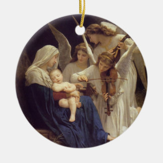 Song of Angels Ceramic Ornament