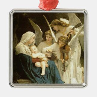 Song of Angels Christmas Nativity Jesus Manger Metal Ornament