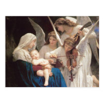 Song of Angels, William-Adolphe Bouguereau Postcard