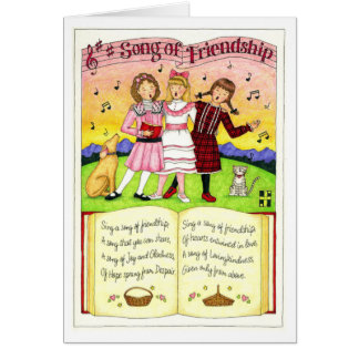 Song of Friendship Friendship Card