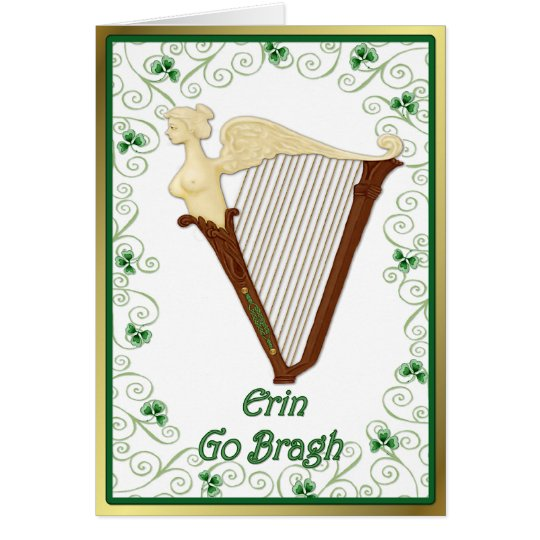 Song of Ireland Card