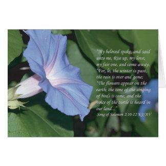 Song of Solomon 2:10-12 Scripture Card