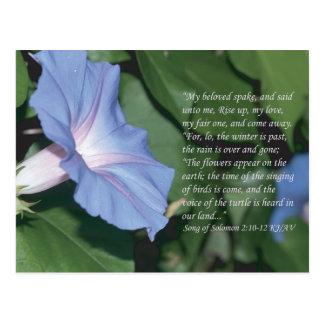Song of Solomon 2:10-12 Scripture Postcard