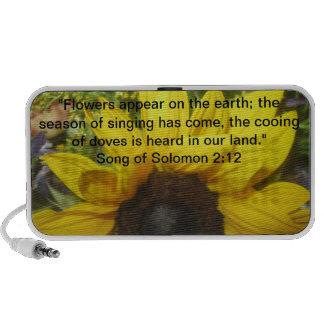Song of Solomon 2:12 iPod Speaker