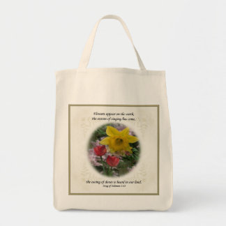 Song of Solomon 2:12 Tote Bag