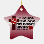Song of Solomon 3:4 Christmas Tree Ornament