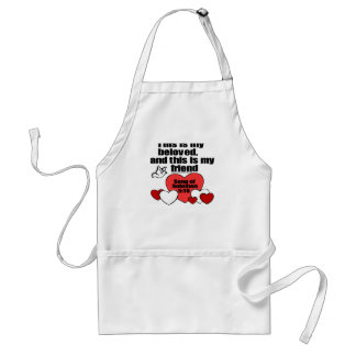 Song of Solomon 5:16 Adult Apron