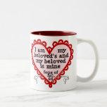 Song of Solomon 6:3 Two-Tone Coffee Mug