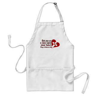 Song of Solomon 8:6 Adult Apron