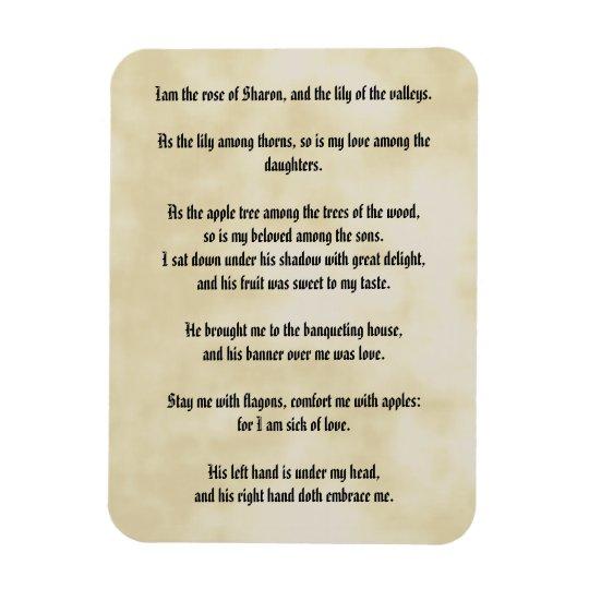 Song of Solomon Magnet