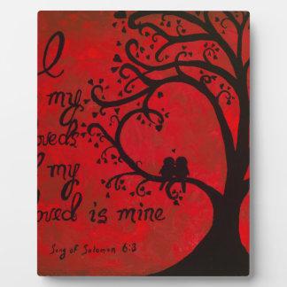Song of Solomon Plaque