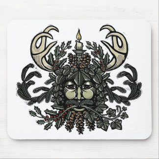 Song of Solstice Greenman Mouse Pad