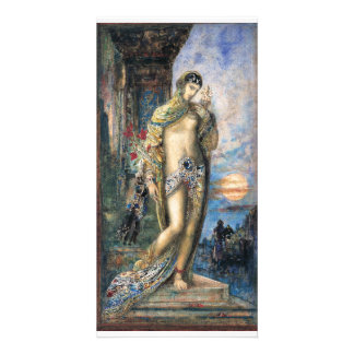 Song of Songs by Gustave Moreau Custom Photo Card