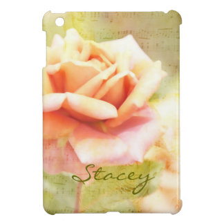 Song of Spring II - Lovely Pale Orange Rose Cover For The iPad Mini