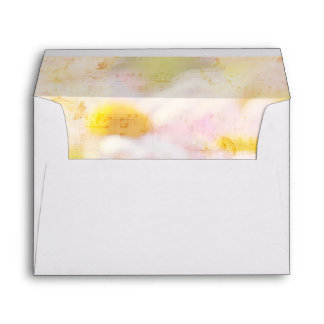Song of Spring Lovely Pale Pink Daisies Asters Envelope